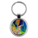 New Form Technology Key Chains (Round)  Front