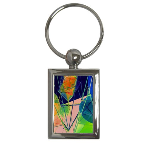 New Form Technology Key Chains (Rectangle)