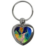 New Form Technology Key Chains (Heart)  Front