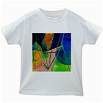 New Form Technology Kids White T-Shirts Front