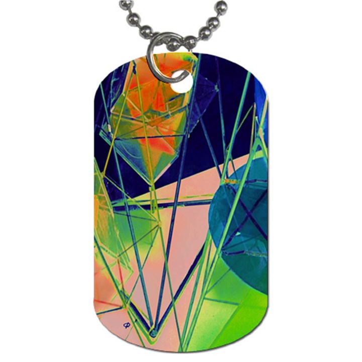 New Form Technology Dog Tag (One Side)