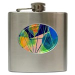 New Form Technology Hip Flask (6 oz) Front