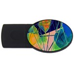 New Form Technology USB Flash Drive Oval (1 GB)  Front