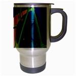 New Form Technology Travel Mug (Silver Gray) Right