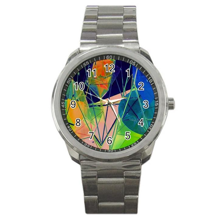 New Form Technology Sport Metal Watch