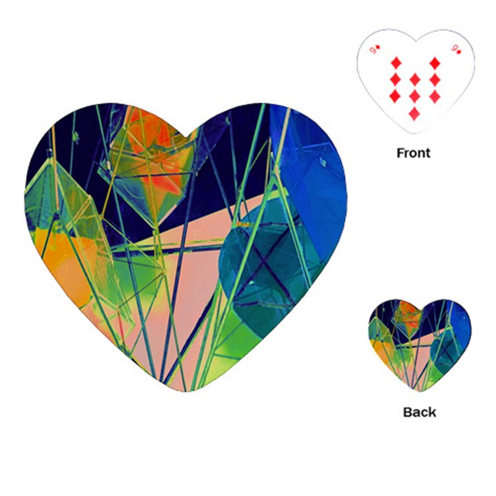 New Form Technology Playing Cards (Heart)