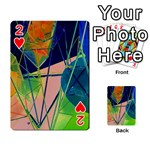 New Form Technology Playing Cards 54 Designs  Front - Heart2