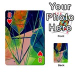 New Form Technology Playing Cards 54 Designs  Front - Heart8
