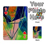 New Form Technology Playing Cards 54 Designs  Front - Heart9