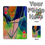 New Form Technology Playing Cards 54 Designs  Front - Heart10