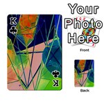 New Form Technology Playing Cards 54 Designs  Front - ClubK