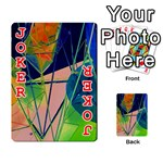 New Form Technology Playing Cards 54 Designs  Front - Joker2