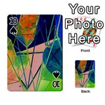 New Form Technology Playing Cards 54 Designs  Front - Spade10