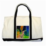 New Form Technology Two Tone Tote Bag Front