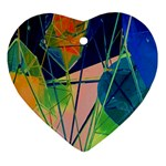 New Form Technology Heart Ornament (2 Sides) Front
