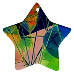 New Form Technology Star Ornament (Two Sides)  Back