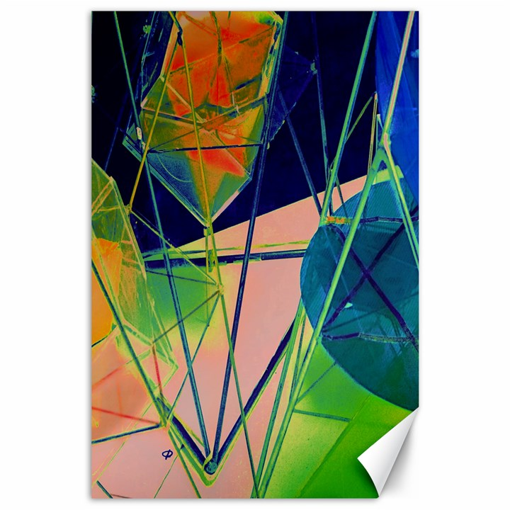 New Form Technology Canvas 24  x 36