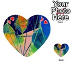 New Form Technology Playing Cards 54 (Heart)  Front - Heart9