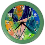 New Form Technology Color Wall Clocks Front