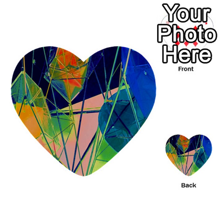 New Form Technology Multi-purpose Cards (Heart)