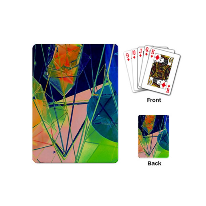 New Form Technology Playing Cards (Mini)