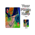 New Form Technology Playing Cards 54 (Mini)  Front - HeartA