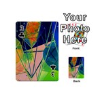 New Form Technology Playing Cards 54 (Mini)  Front - Club3
