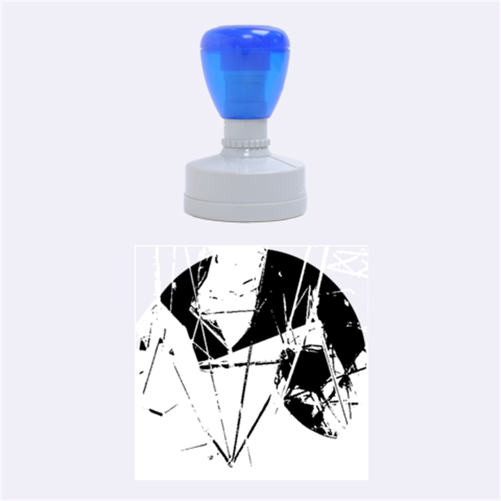 New Form Technology Rubber Round Stamps (Medium)