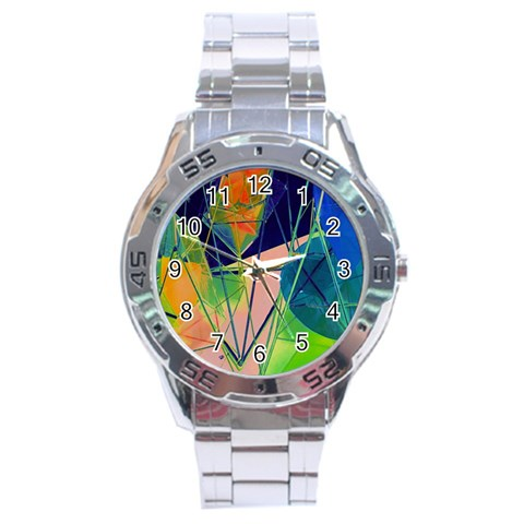 New Form Technology Stainless Steel Analogue Watch
