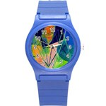 New Form Technology Round Plastic Sport Watch (S) Front