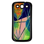 New Form Technology Samsung Galaxy S3 Back Case (Black) Front