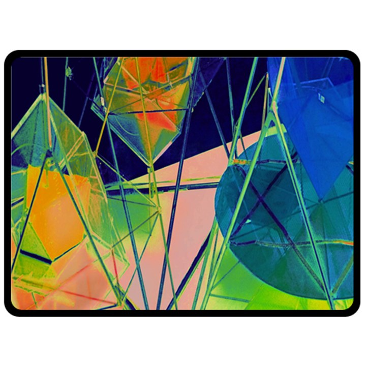 New Form Technology Double Sided Fleece Blanket (Large)