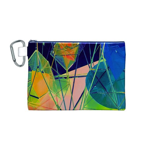 New Form Technology Canvas Cosmetic Bag (M)