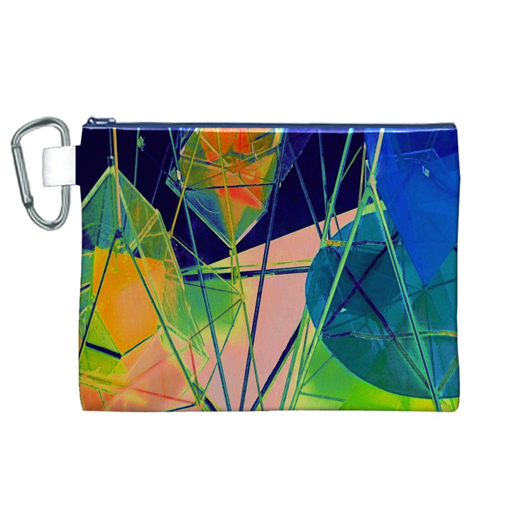 New Form Technology Canvas Cosmetic Bag (XL)