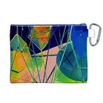 New Form Technology Canvas Cosmetic Bag (XL) Back
