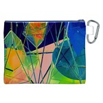 New Form Technology Canvas Cosmetic Bag (XXL) Back