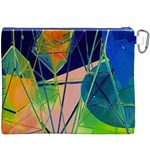 New Form Technology Canvas Cosmetic Bag (XXXL) Back