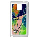 New Form Technology Samsung Galaxy Note 4 Case (White) Front