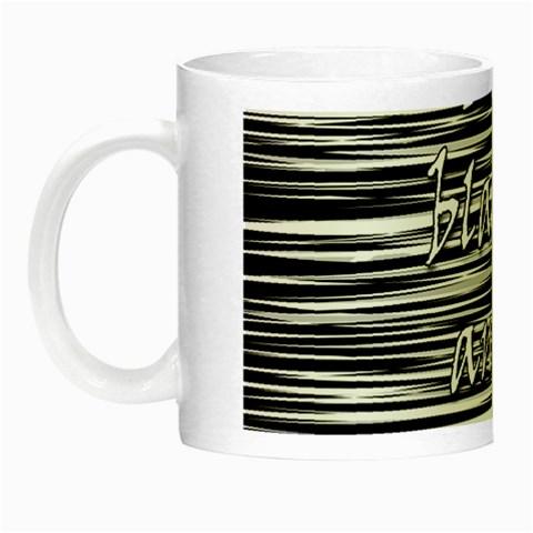 I love black and white 2 Night Luminous Mugs