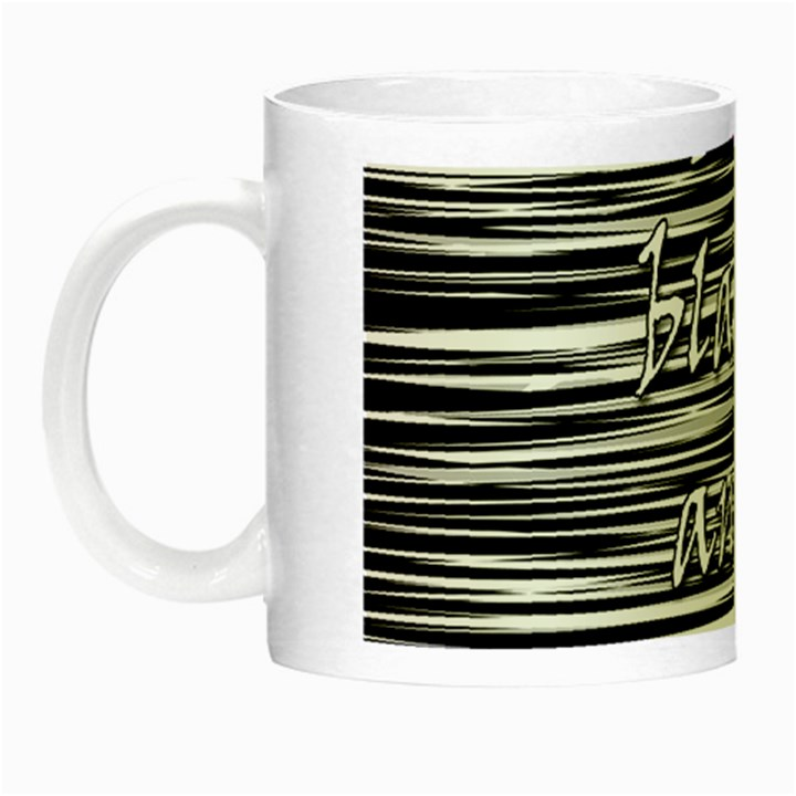 I love black and white 2 Night Luminous Mugs
