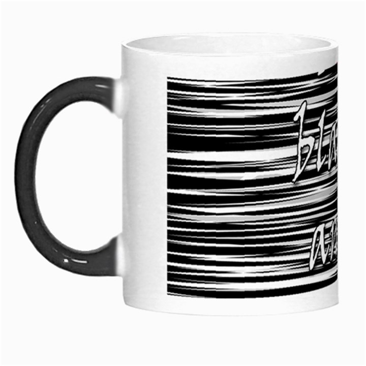 I love black and white 2 Morph Mugs