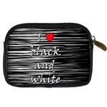 I love black and white 2 Digital Camera Cases Back