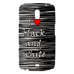 I love black and white 2 Samsung Galaxy Nexus i9250 Hardshell Case