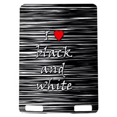 I love black and white 2 Kindle Touch 3G