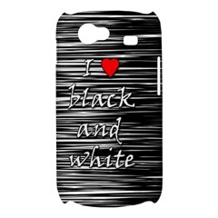 I love black and white 2 Samsung Galaxy Nexus S i9020 Hardshell Case