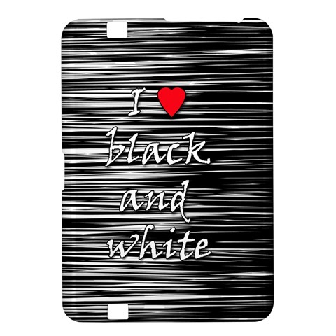 I love black and white 2 Kindle Fire HD 8.9