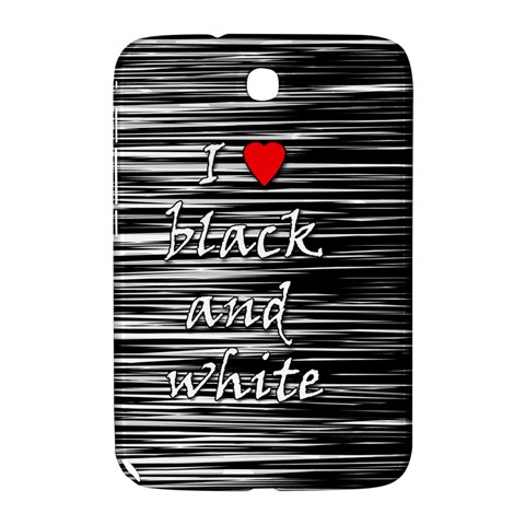 I love black and white 2 Samsung Galaxy Note 8.0 N5100 Hardshell Case
