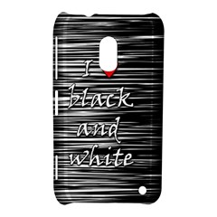 I Love Black And White 2 Nokia Lumia 620