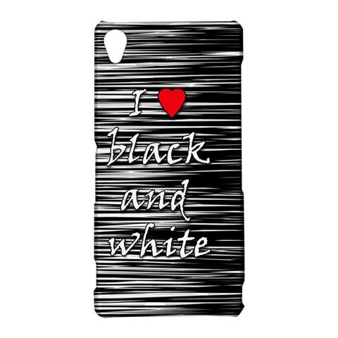 I love black and white 2 Sony Xperia Z3