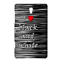 I love black and white 2 Samsung Galaxy Tab S (8.4 ) Hardshell Case
